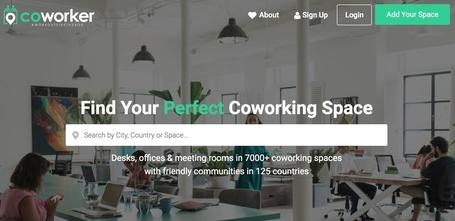 Coworker. Un annuaire mondial des espaces de coworking–