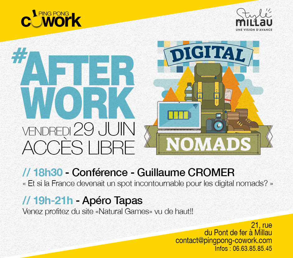 afterwork Digital Nomads - PPCW